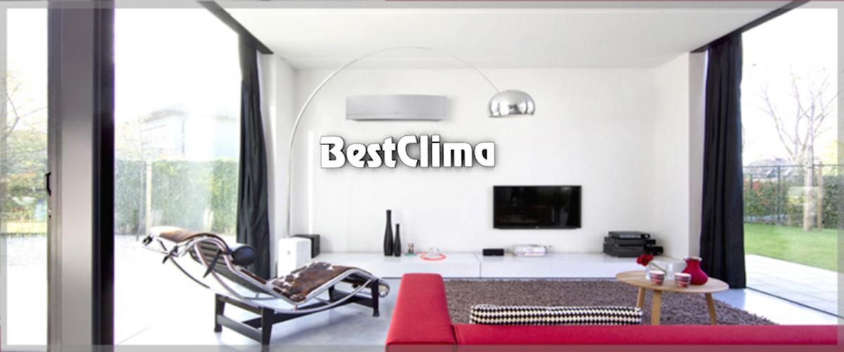 Una casa climatizzata